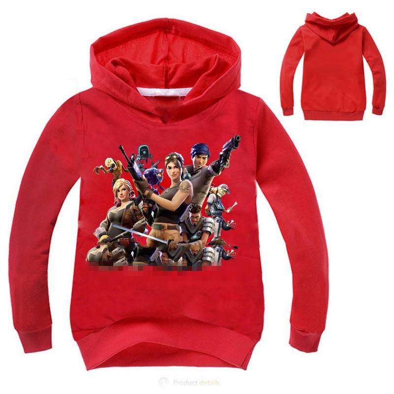 Kids Hoodie Jumper Pullover Casual Sweatshirt Gamer Clothes Girl Boys Hoodie New