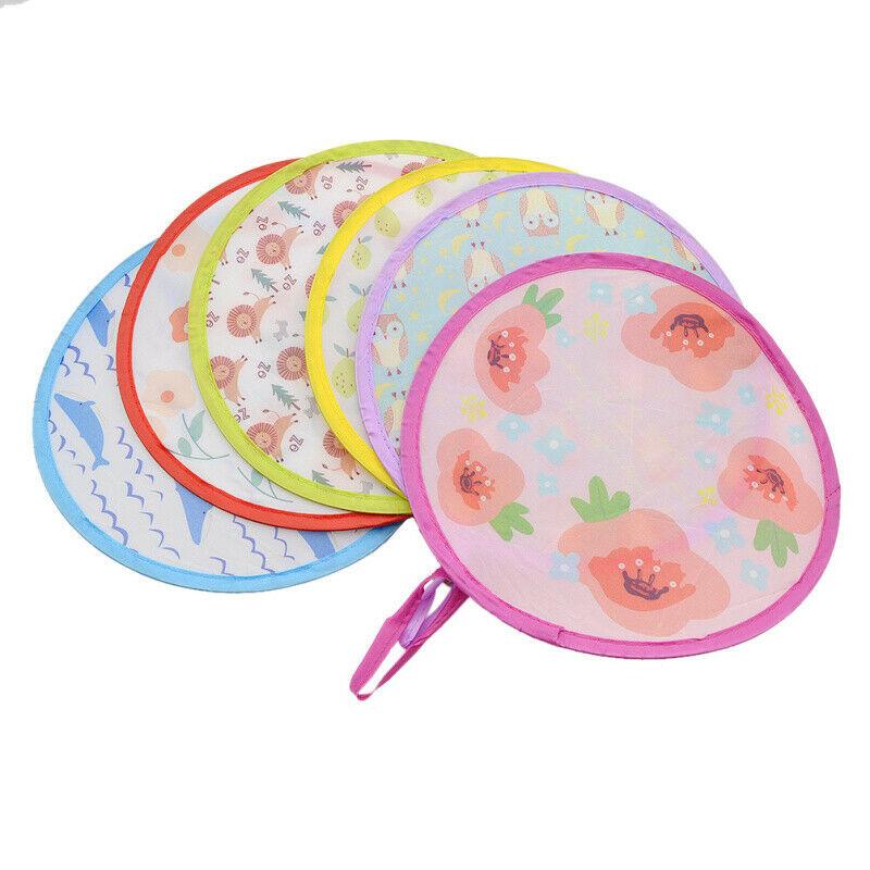 Mini Floral Animal Hand Fan Cooling Foldable Pocket Portable Fans Color Random