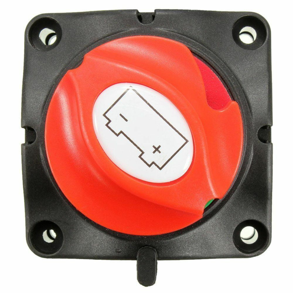 Removable Battery Isolator Cut Off Power Kill Switch 12v