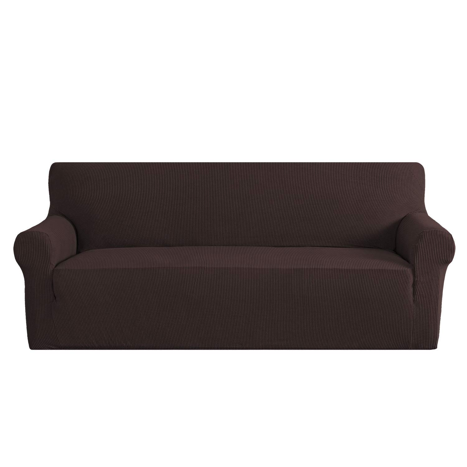 Sofa-Cover-Stretch-1-2-3-Seater-Easy-Fit-Lounge-Couch-Slipcovers-Chair-Protector thumbnail 33