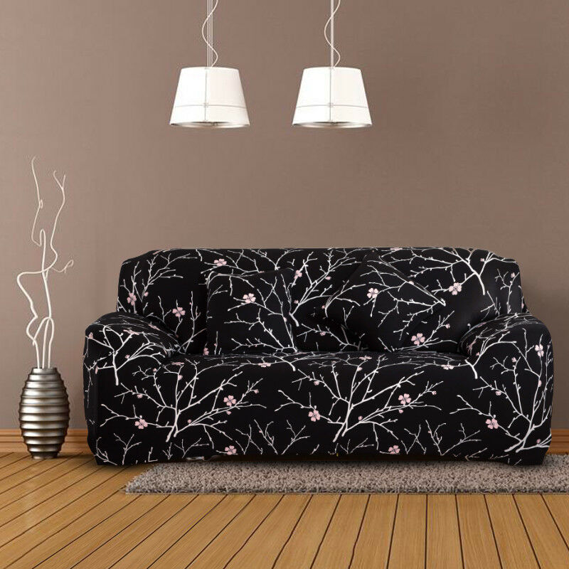 EASY-Stretch-Couch-Sofa-Lounge-Covers-Recliner-1-2-3-Seater-Dining-Chair-Cover thumbnail 15