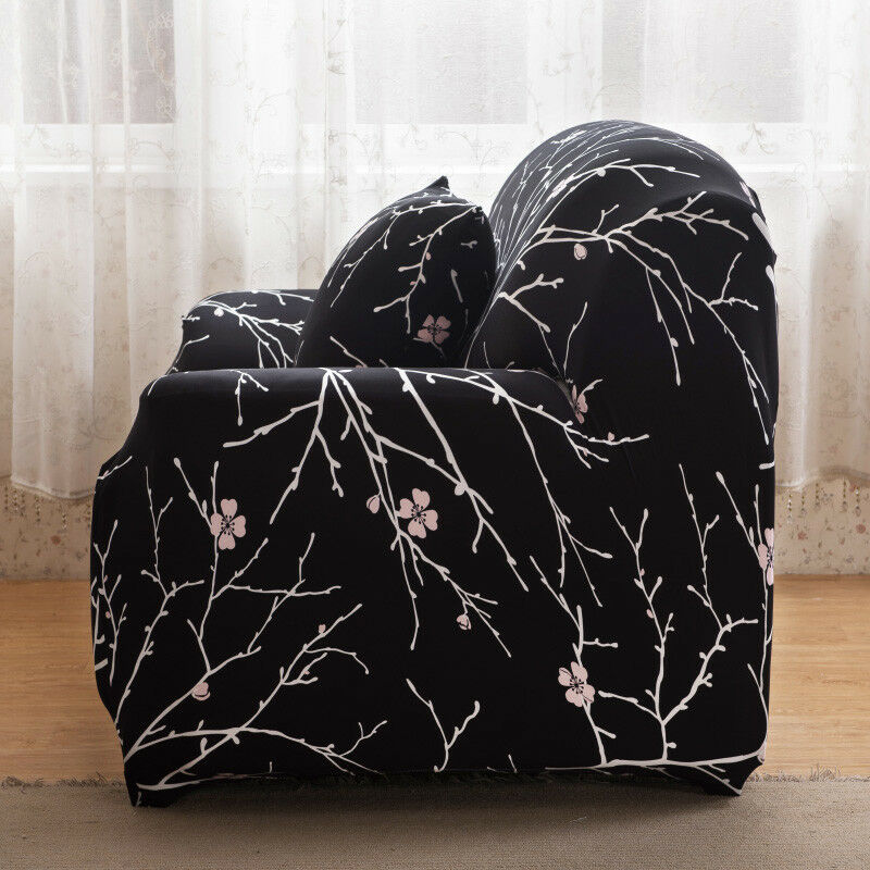 EASY-Stretch-Couch-Sofa-Lounge-Covers-Recliner-1-2-3-Seater-Dining-Chair-Cover thumbnail 17