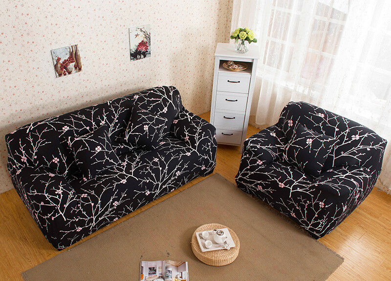 EASY-Stretch-Couch-Sofa-Lounge-Covers-Recliner-1-2-3-Seater-Dining-Chair-Cover thumbnail 18