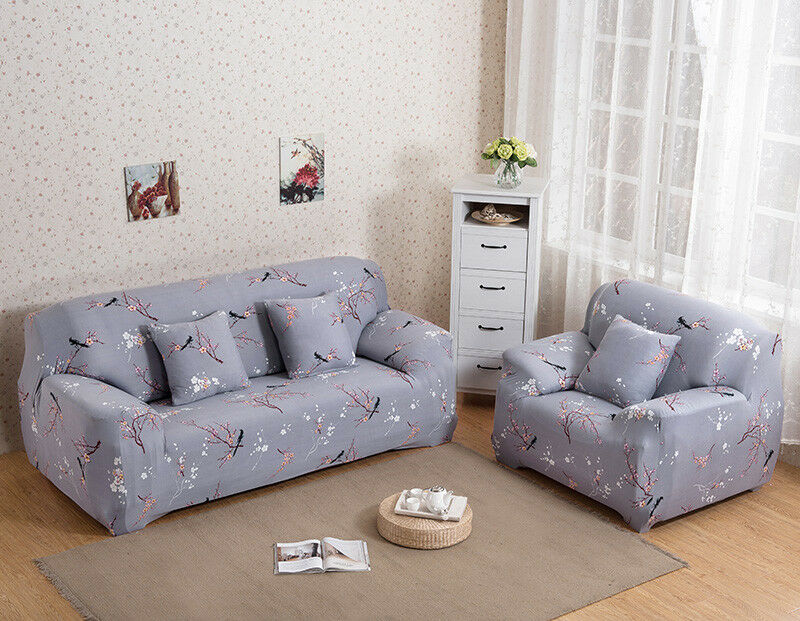 EASY-Stretch-Couch-Sofa-Lounge-Covers-Recliner-1-2-3-Seater-Dining-Chair-Cover thumbnail 26