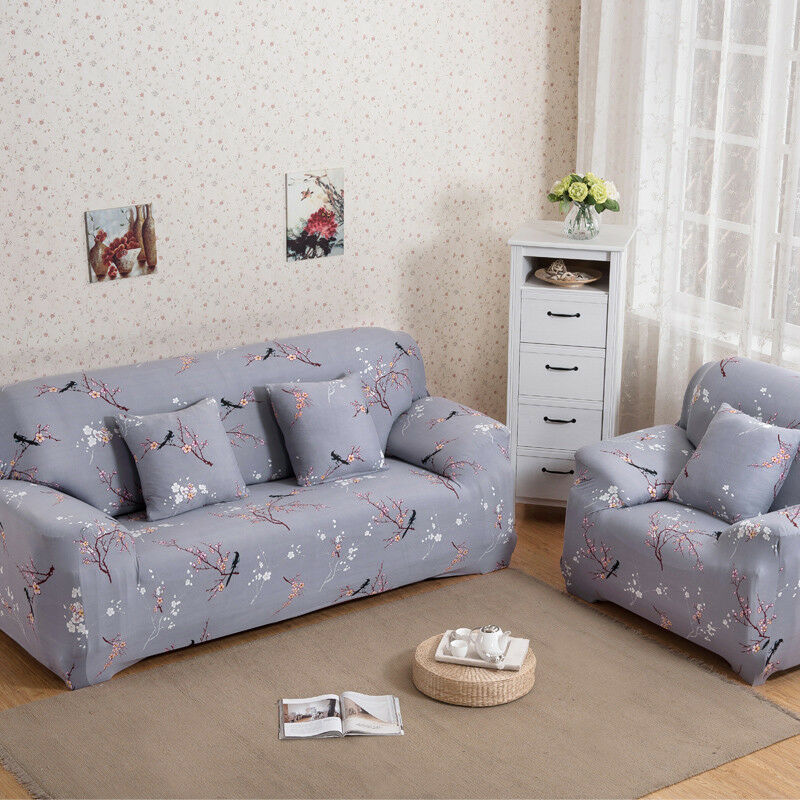 EASY-Stretch-Couch-Sofa-Lounge-Covers-Recliner-1-2-3-Seater-Dining-Chair-Cover thumbnail 33