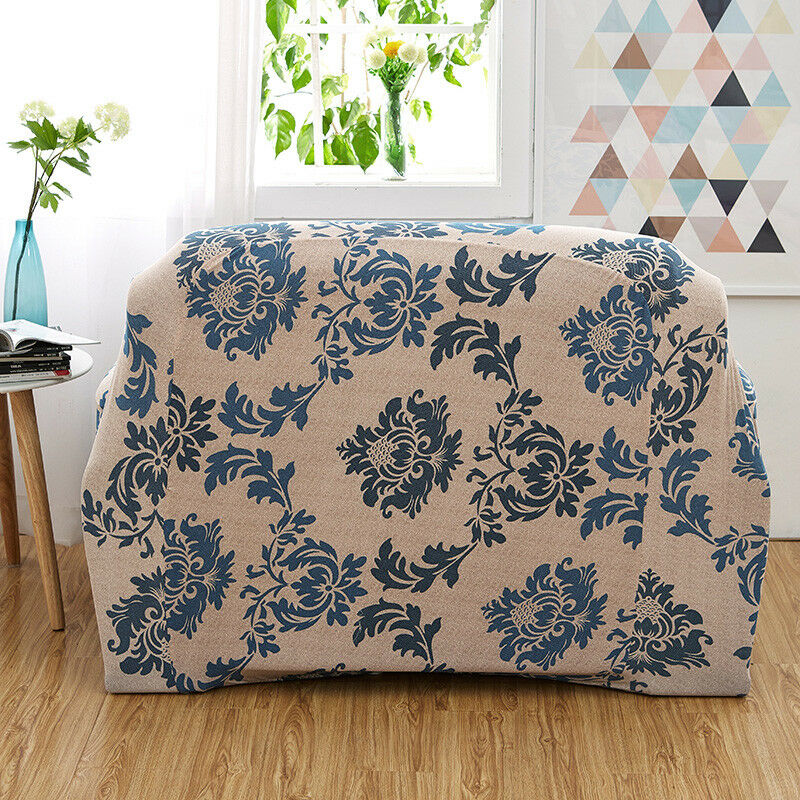 EASY-Stretch-Couch-Sofa-Lounge-Covers-Recliner-1-2-3-Seater-Dining-Chair-Cover thumbnail 45