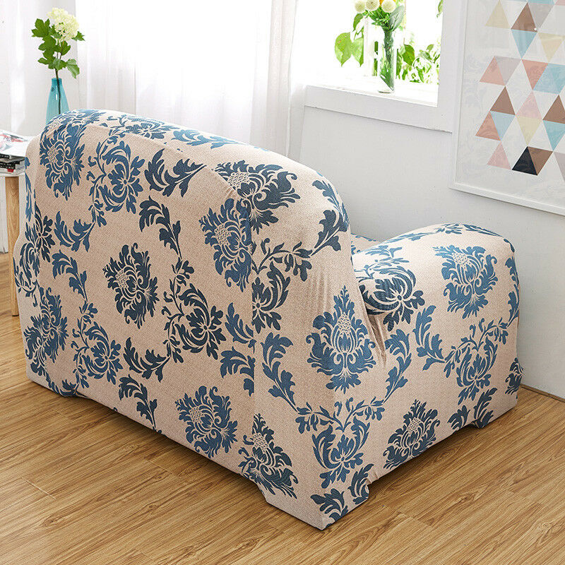 EASY-Stretch-Couch-Sofa-Lounge-Covers-Recliner-1-2-3-Seater-Dining-Chair-Cover thumbnail 46