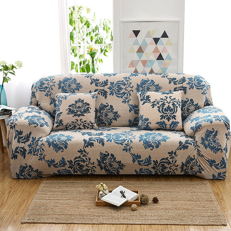 EASY-Stretch-Couch-Sofa-Lounge-Covers-Recliner-1-2-3-Seater-Dining-Chair-Cover thumbnail 47