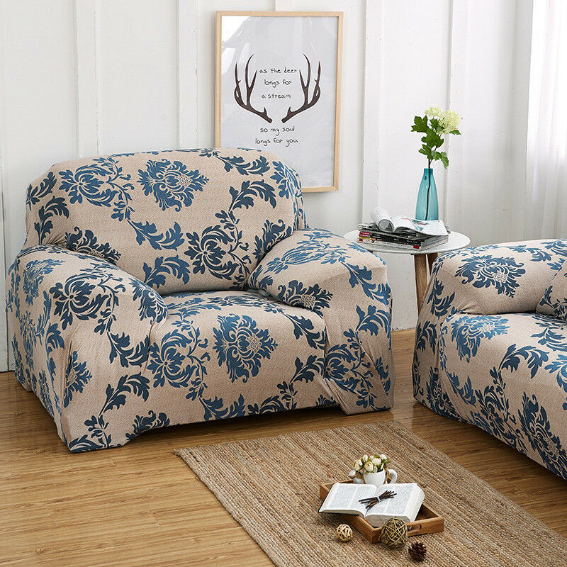 EASY-Stretch-Couch-Sofa-Lounge-Covers-Recliner-1-2-3-Seater-Dining-Chair-Cover thumbnail 49