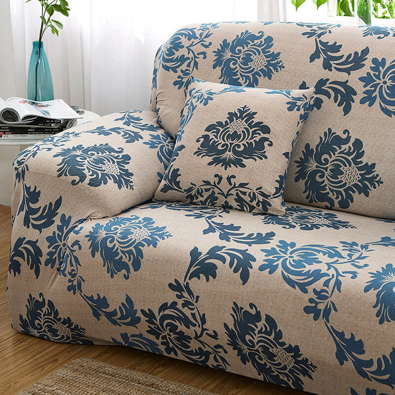 EASY-Stretch-Couch-Sofa-Lounge-Covers-Recliner-1-2-3-Seater-Dining-Chair-Cover thumbnail 52