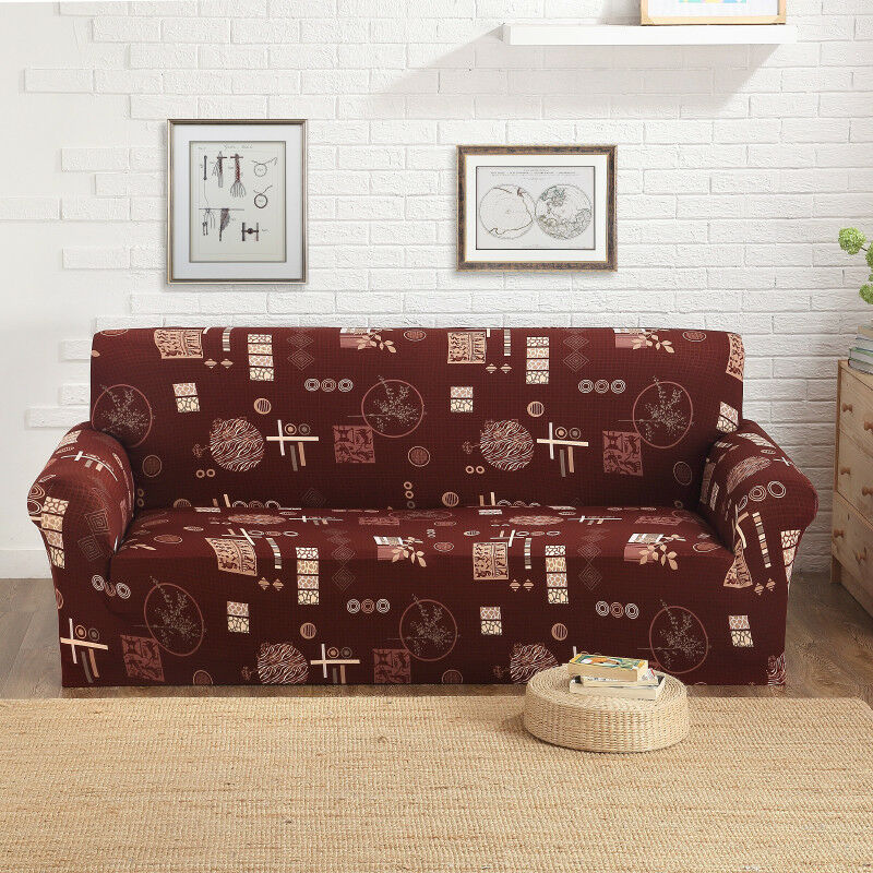 EASY-Stretch-Couch-Sofa-Lounge-Covers-Recliner-1-2-3-Seater-Dining-Chair-Cover thumbnail 62