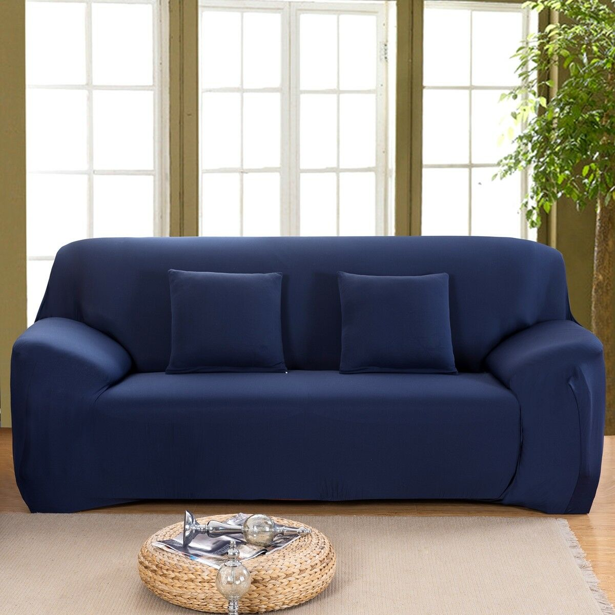 EASY-Stretch-Couch-Sofa-Lounge-Covers-Recliner-1-2-3-Seater-Dining-Chair-Cover thumbnail 69