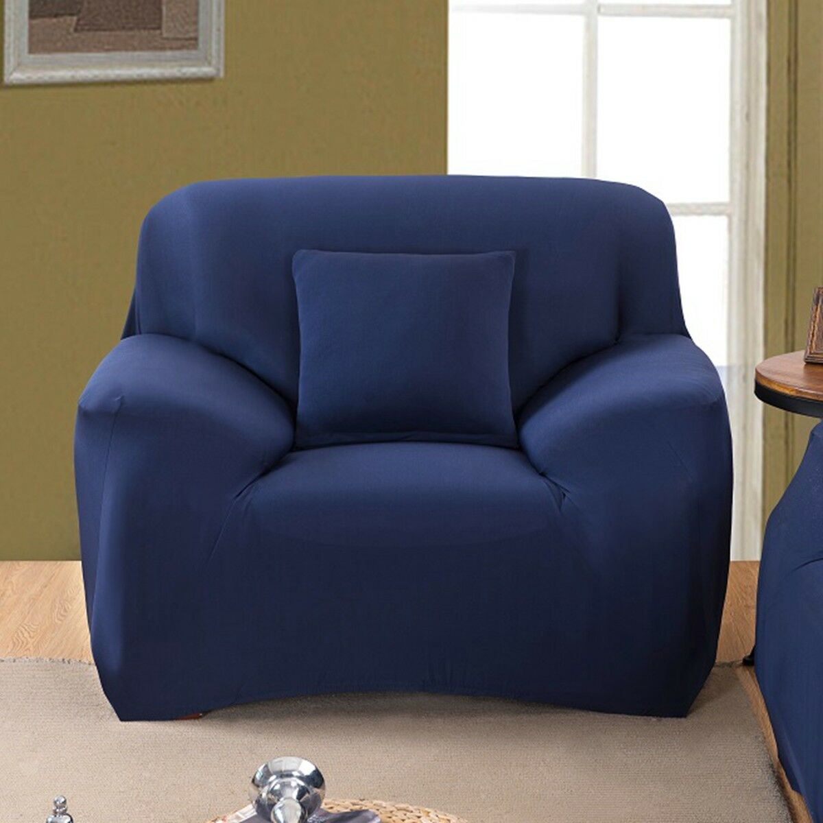 EASY-Stretch-Couch-Sofa-Lounge-Covers-Recliner-1-2-3-Seater-Dining-Chair-Cover thumbnail 70
