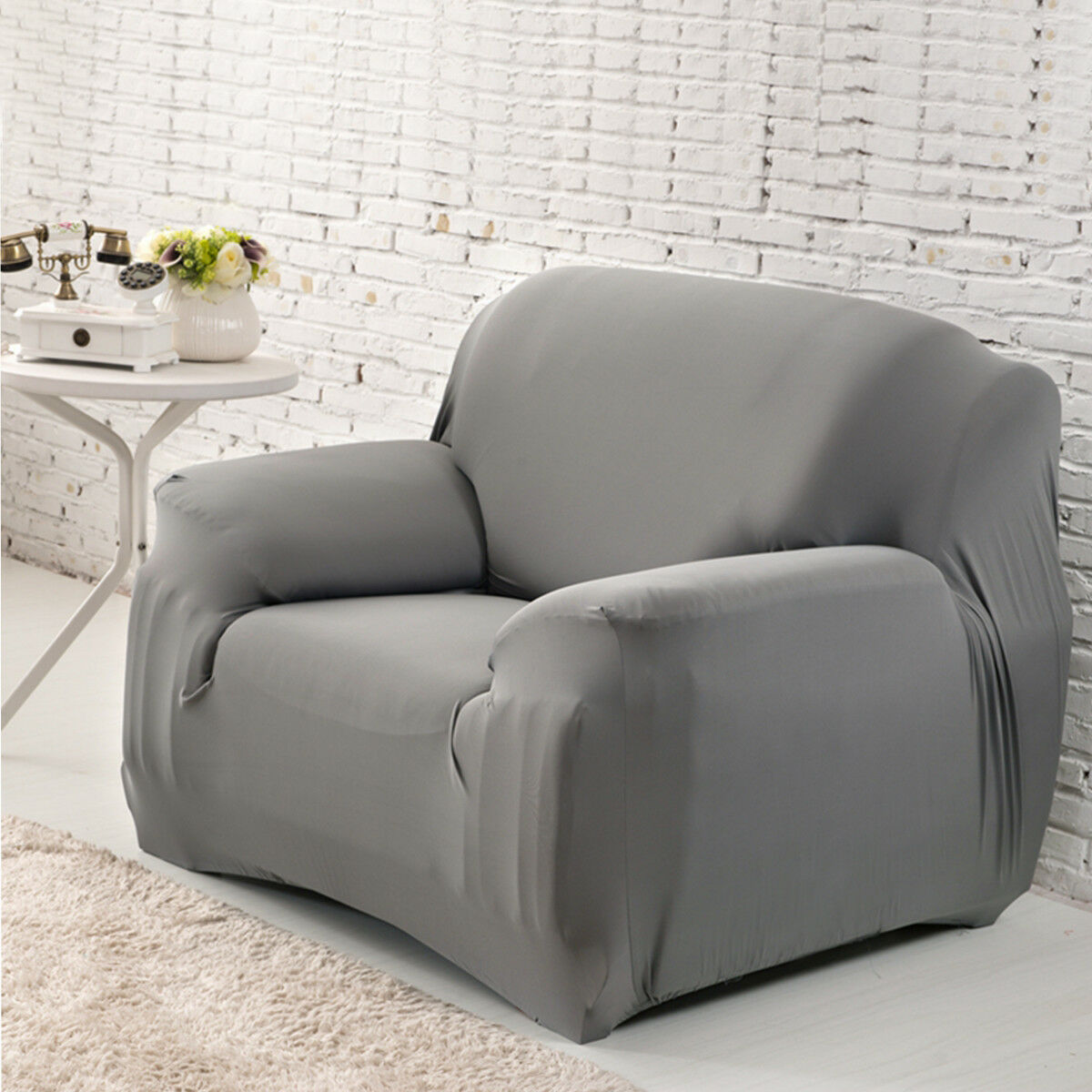 EASY-Stretch-Couch-Sofa-Lounge-Covers-Recliner-1-2-3-Seater-Dining-Chair-Cover thumbnail 76