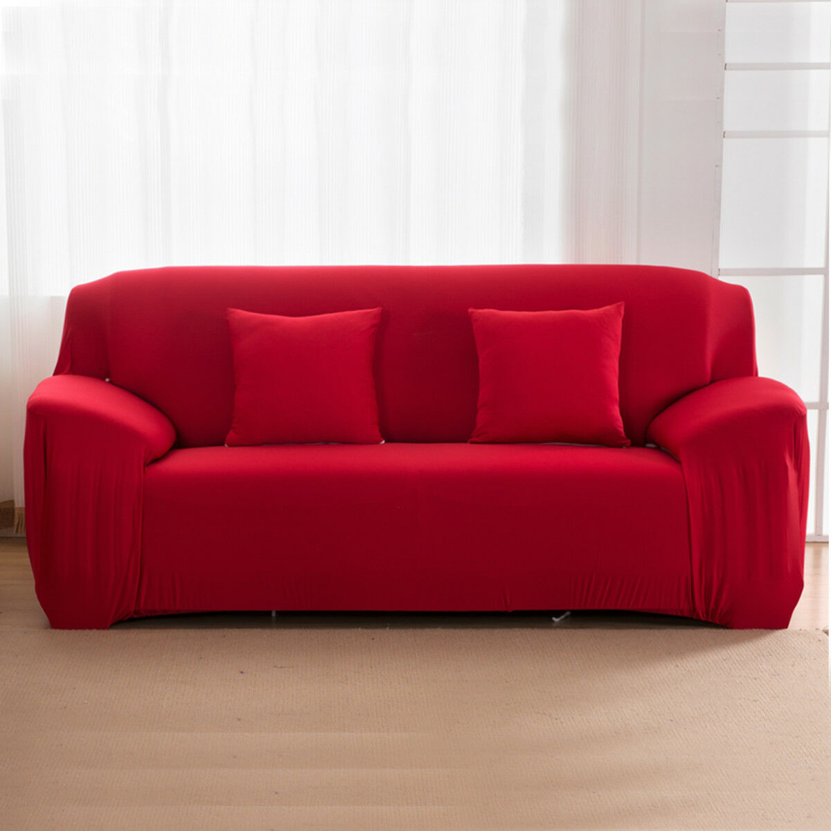 EASY-Stretch-Couch-Sofa-Lounge-Covers-Recliner-1-2-3-Seater-Dining-Chair-Cover thumbnail 84