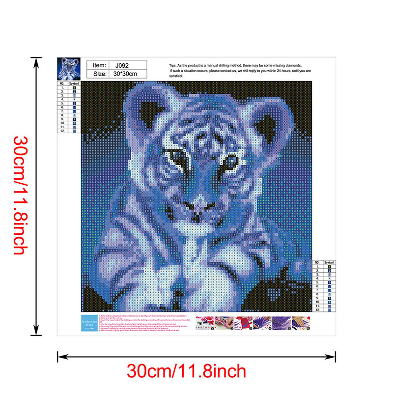 thumbnail 45 - 5D-Diamond-Painting-Embroidery-Cartoon-Cross-Stitch-Arts-Craft-Kit-Mural-Decor