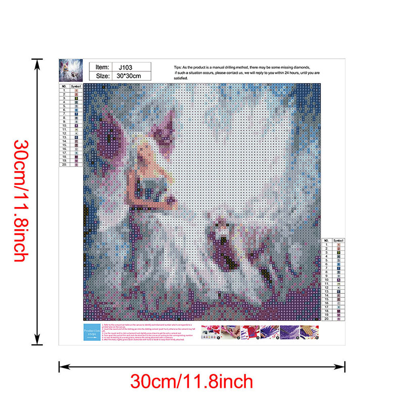 thumbnail 88 - 5D-Diamond-Painting-Embroidery-Cartoon-Cross-Stitch-Arts-Craft-Kit-Mural-Decor
