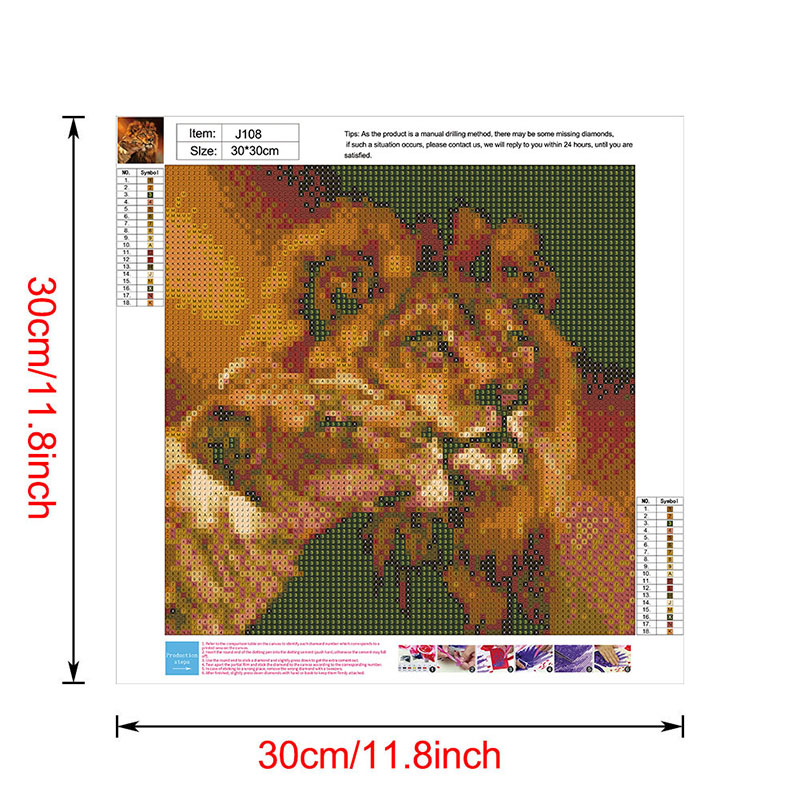 thumbnail 103 - 5D-Diamond-Painting-Embroidery-Cartoon-Cross-Stitch-Arts-Craft-Kit-Mural-Decor