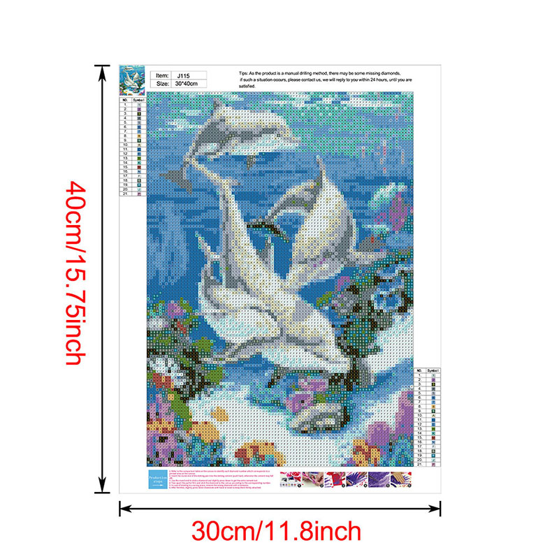 thumbnail 128 - 5D-Diamond-Painting-Embroidery-Cartoon-Cross-Stitch-Arts-Craft-Kit-Mural-Decor