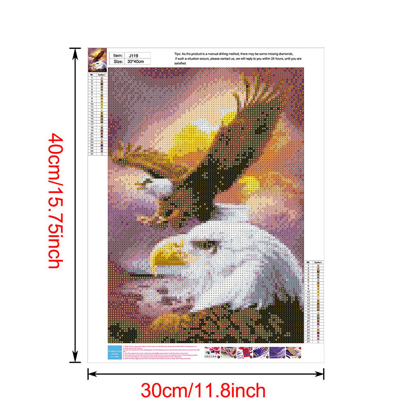 thumbnail 140 - 5D-Diamond-Painting-Embroidery-Cartoon-Cross-Stitch-Arts-Craft-Kit-Mural-Decor