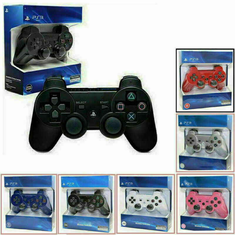 Wireless Bluetooth Dualshock 3 Controller Gamepad Joystick for Play Station PS3