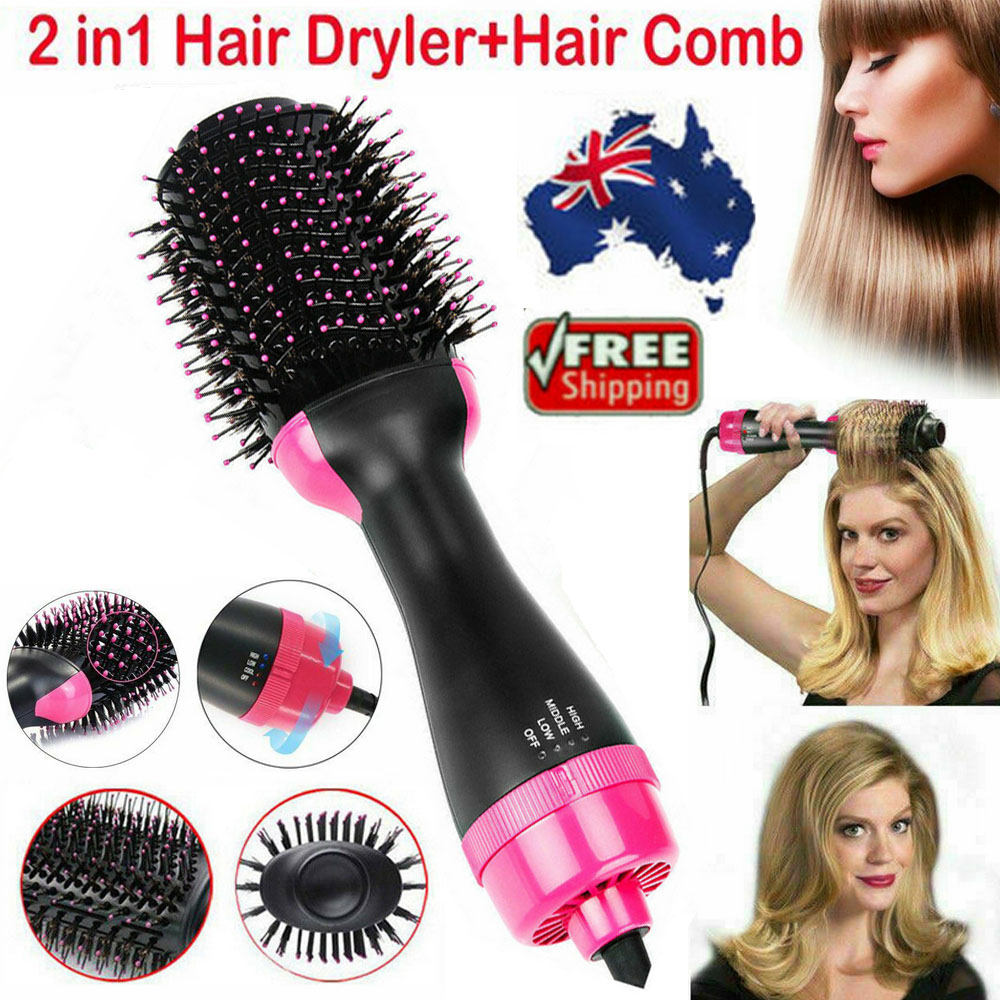 One-Step Salon Hair Dryer and Volumizer Hair Comb 2 in1 Hair