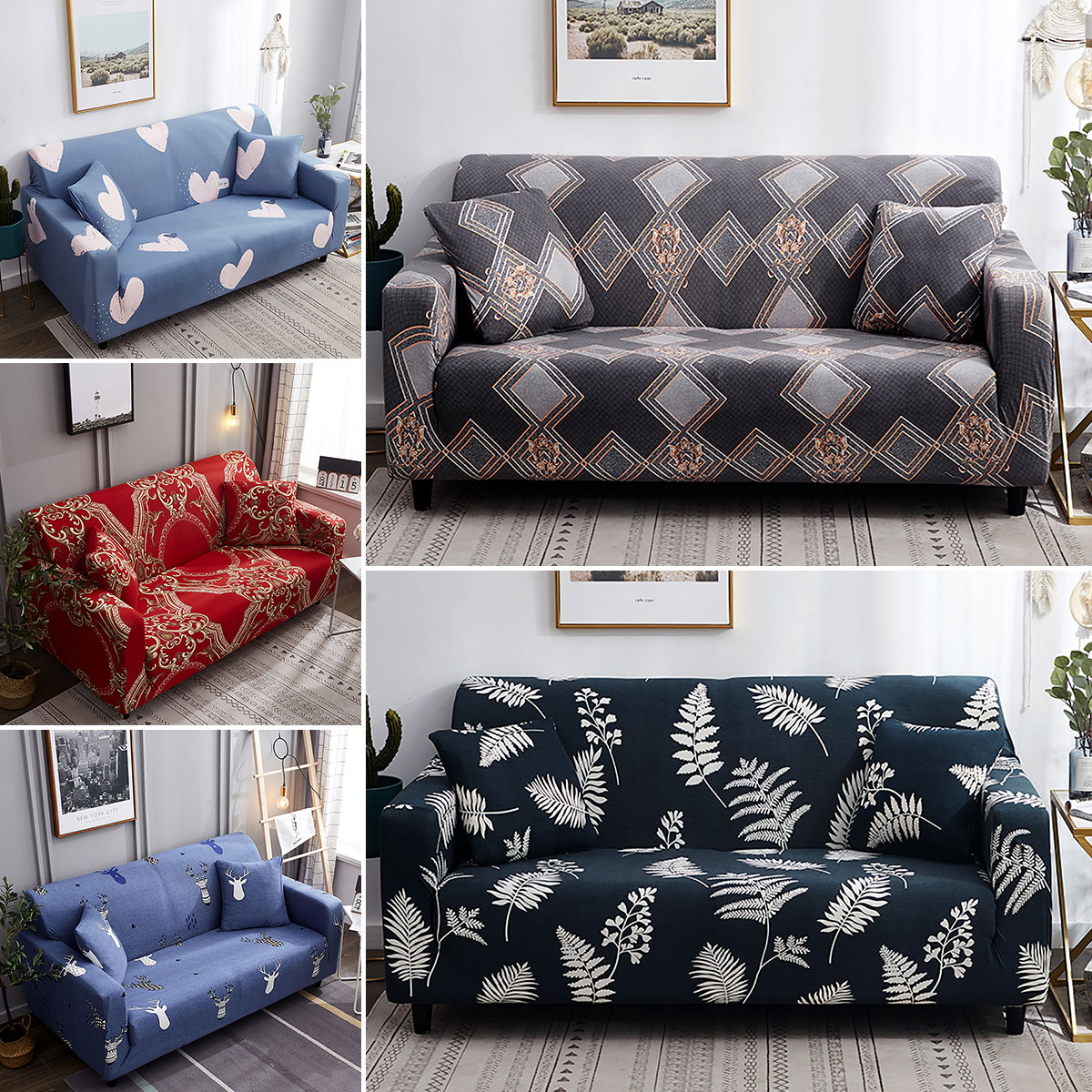 Stretch Soft Sofa Cover Couch Covers
