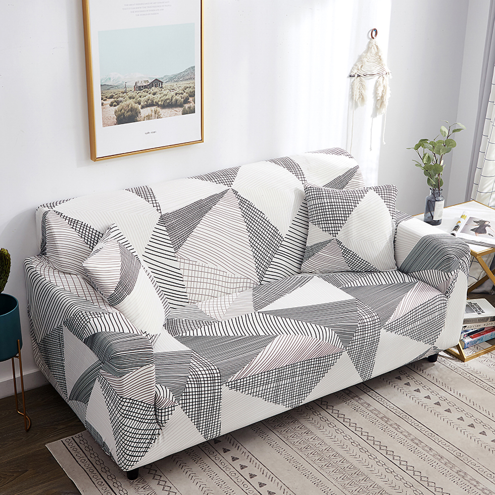 1-2-3-4-Seater-Elastic-Sofa-Covers-Slipcover-Stretch-Couch-Protector-Sofa-Decor thumbnail 106
