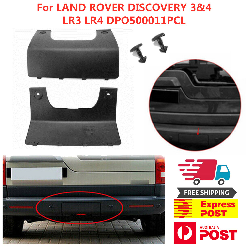 Rear Bumper Tow Eye Cover For Land Rover LR3 LR4 Discovery 3//4 OEM DPO500011PCL