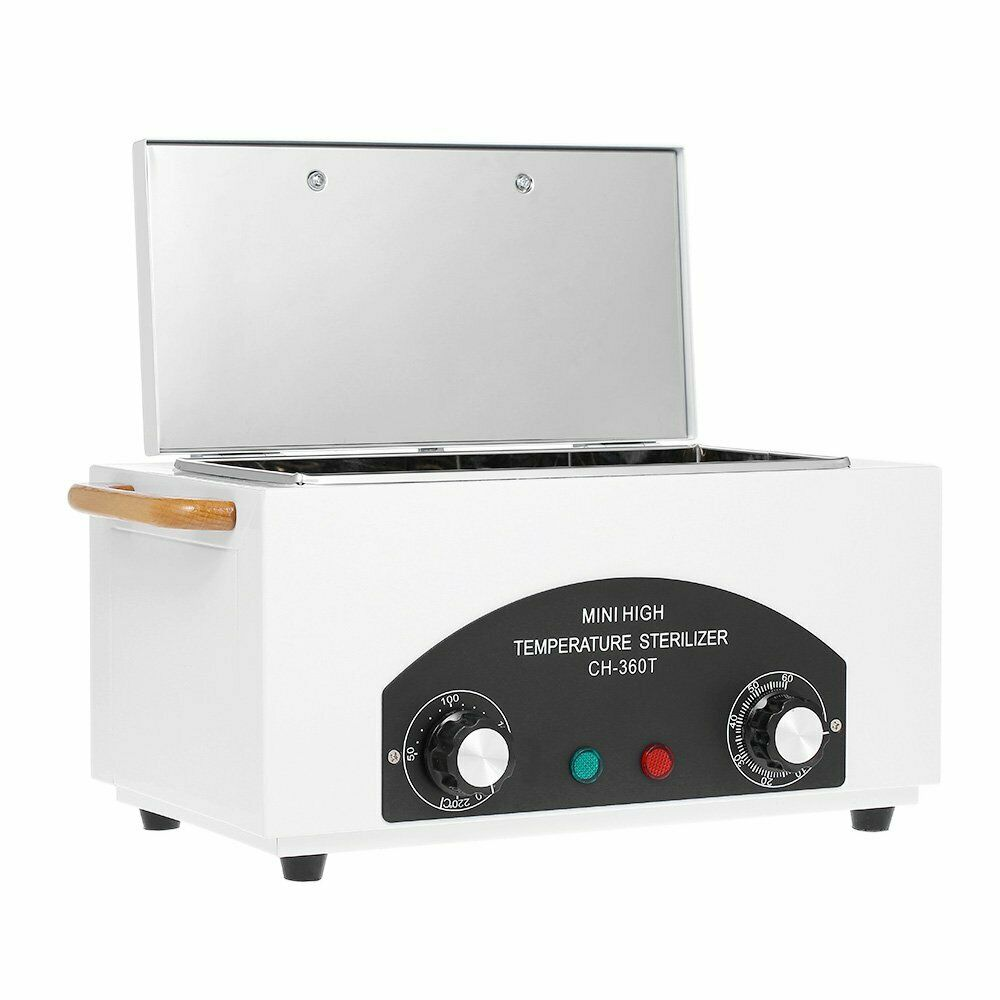 300W Sterilizer Dry Heat Portable Autoclave UV Dental Nail ...