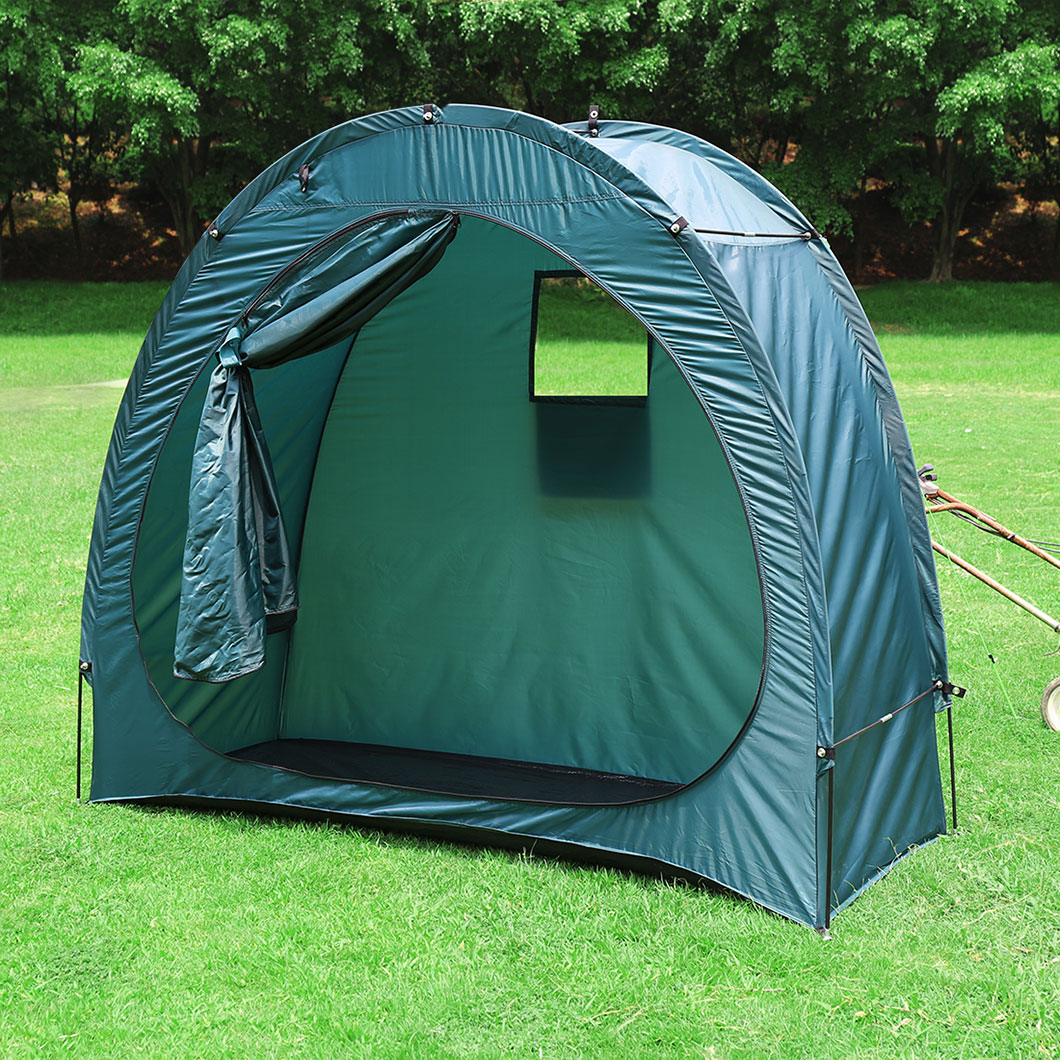 Portable Bicycle Bike Storage Tent Shed Cave Space Saver ...