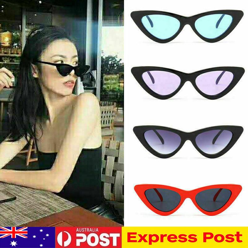 Sunglasses Womens Mens Fashion Eye Round Details Au Glasses Vintage Retro Cat About Unisex VMpUzS