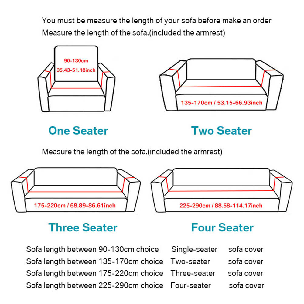 Sofa Cover Stretch 1 2 3 Seater Easy Fit Lounge Couch