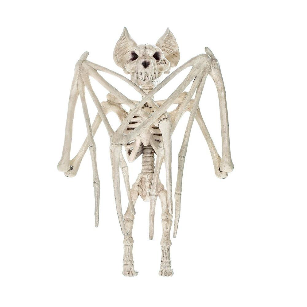 Halloween Skeleton Cat Dog Mouse Prop Bat Bones Party Shop