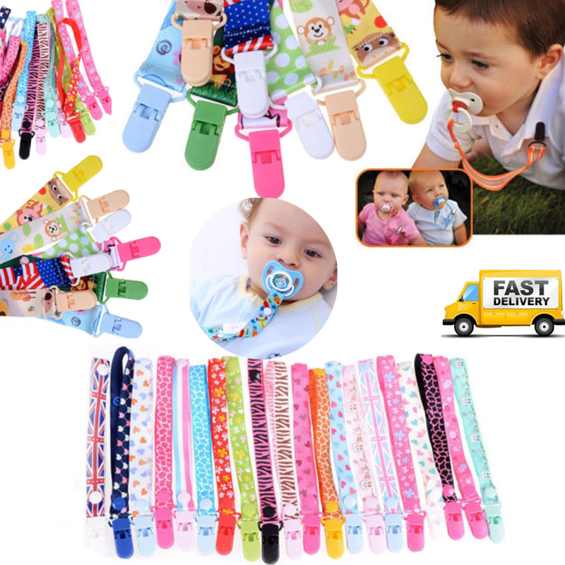 Baby Infant Toddler Pacifier Soother 8C Dummy Clip