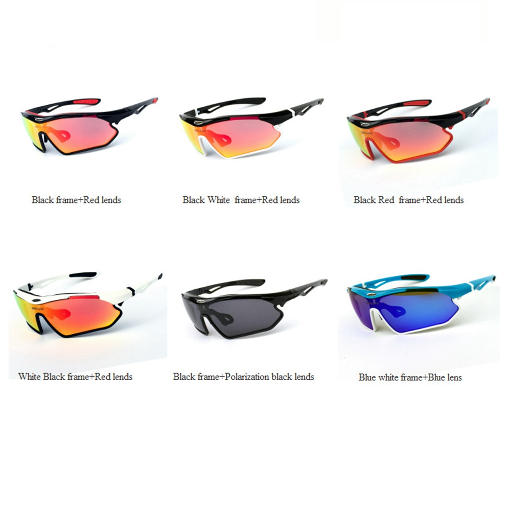 f607f1ef7ab9f Details about Outdoor Sport Polarized Sunglasses Cycling Driving Riding Bike  Goggles Glasses