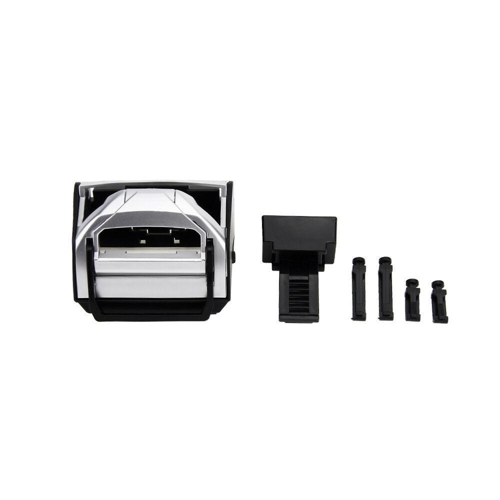 ABS-Auto-Camion-Supporto-Doppio-Foro-Bottiglie-Porta-Tazza-Durevole-Argento miniatura 6