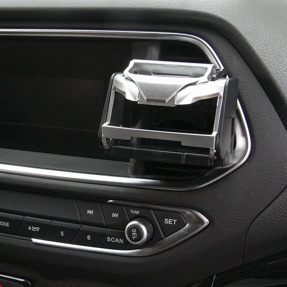 ABS-Auto-Camion-Supporto-Doppio-Foro-Bottiglie-Porta-Tazza-Durevole-Argento miniatura 8