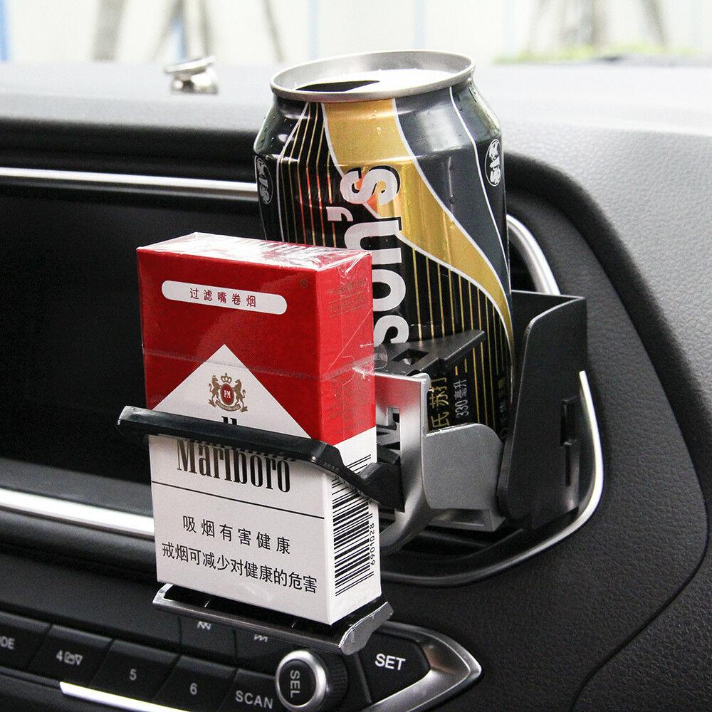 ABS-Auto-Camion-Supporto-Doppio-Foro-Bottiglie-Porta-Tazza-Durevole-Argento miniatura 9
