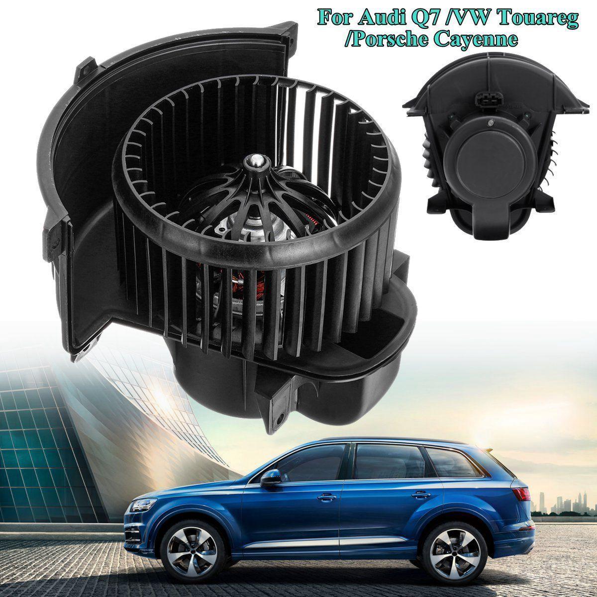 Heater Blower Motor w// Cage Front Fit Audi Q7 Volkswagen Touareg Porsche Cayenne