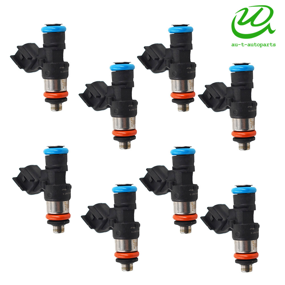 Details about 8xFuel Injector for Holden Commodore VZ VE L76 L98 LS3 LS2 V8  6 0 6 2 0280158051