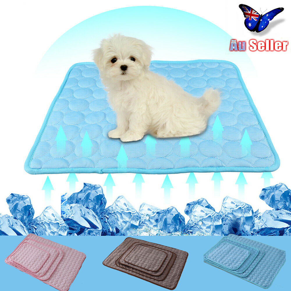 Washable Soft Cooling Mat for Dogs Cats Kennel Breathable Pad Pet Rest Place