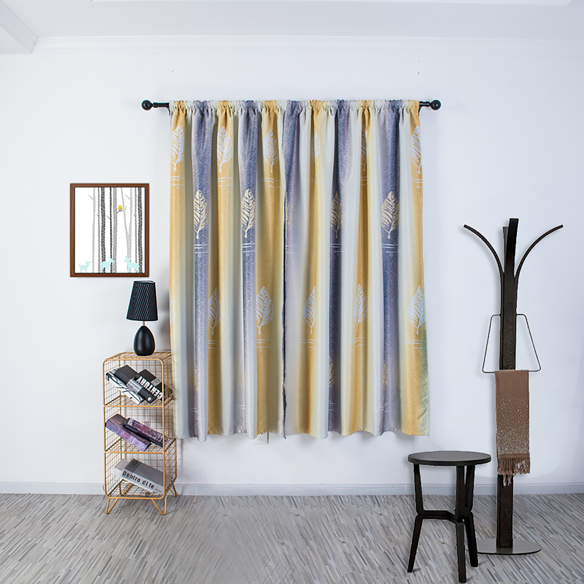 colorful insulated thermal blackout window curtain for kid