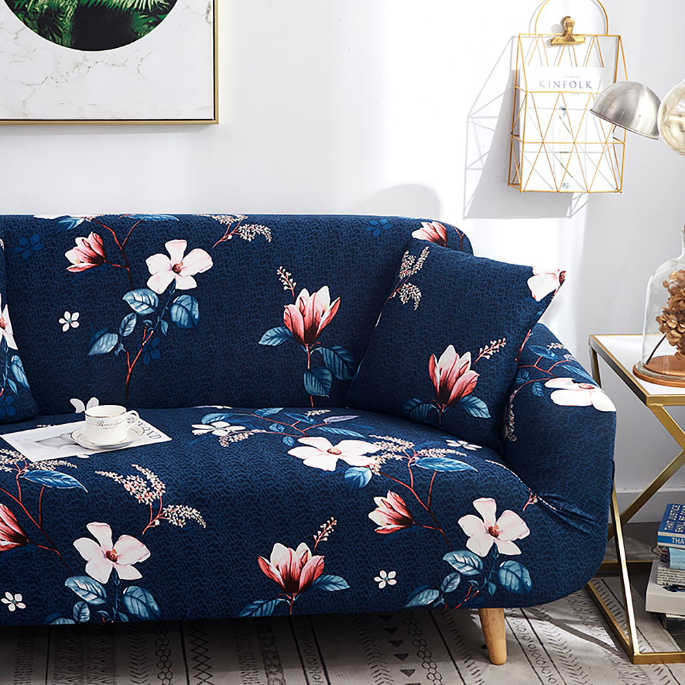 1-2-3-4-Floral-Elastic-Sofa-Cover-Slipcover-Stretch-Couch-Furniture-Protector thumbnail 85