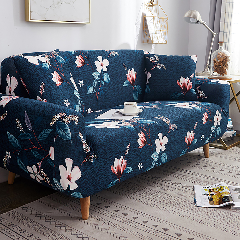 1-2-3-4-Floral-Elastic-Sofa-Cover-Slipcover-Stretch-Couch-Furniture-Protector thumbnail 87