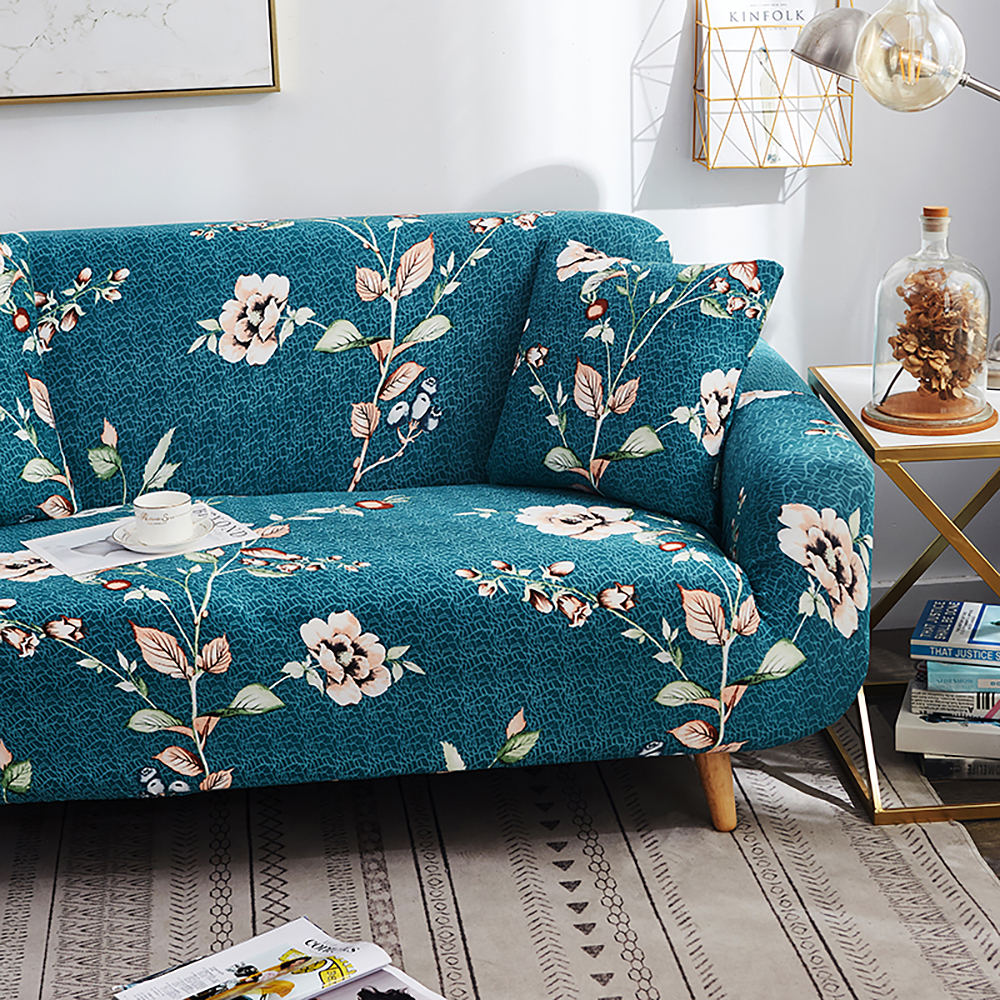 1-2-3-4-Floral-Elastic-Sofa-Cover-Slipcover-Stretch-Couch-Furniture-Protector thumbnail 96