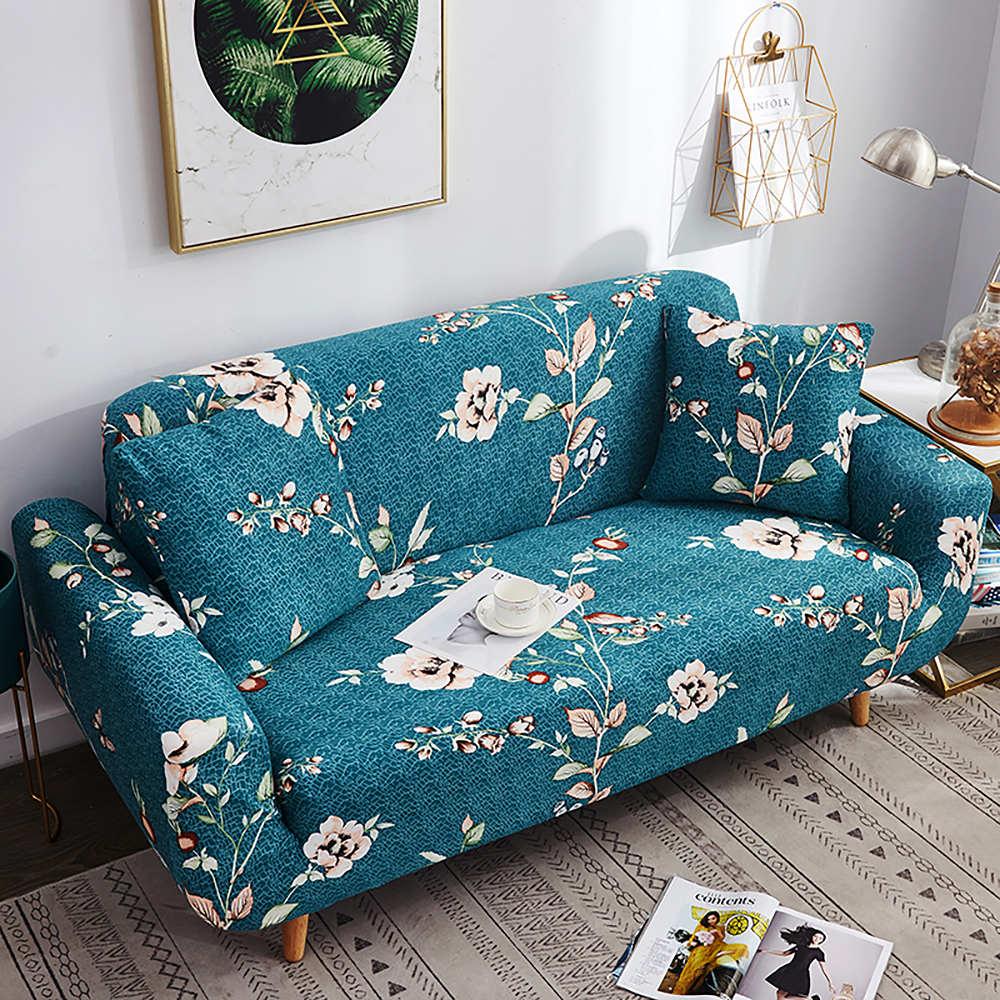 1-2-3-4-Floral-Elastic-Sofa-Cover-Slipcover-Stretch-Couch-Furniture-Protector thumbnail 97