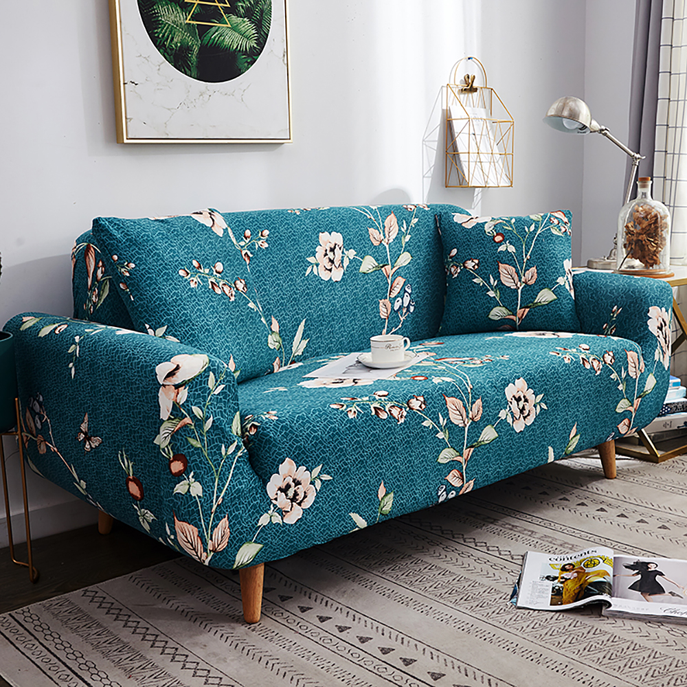 1-2-3-4-Floral-Elastic-Sofa-Cover-Slipcover-Stretch-Couch-Furniture-Protector thumbnail 98