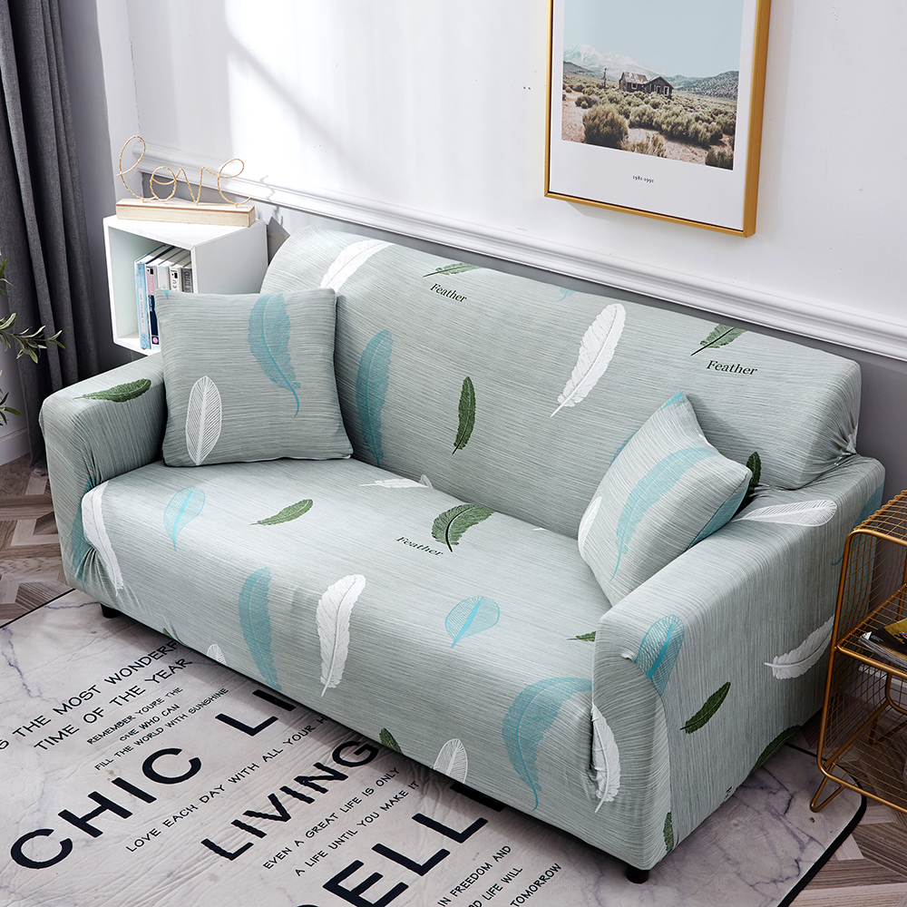 1-2-3-4-Floral-Elastic-Sofa-Cover-Slipcover-Stretch-Couch-Furniture-Protector thumbnail 107