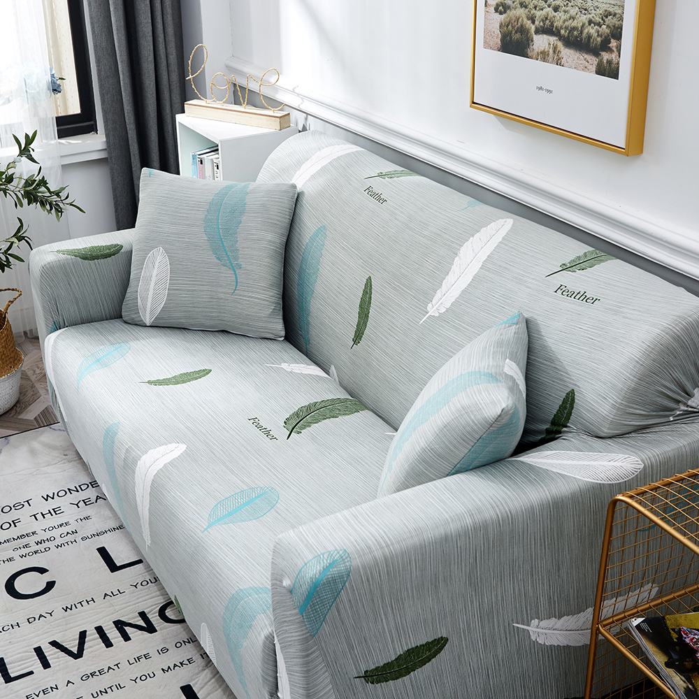 1-2-3-4-Floral-Elastic-Sofa-Cover-Slipcover-Stretch-Couch-Furniture-Protector thumbnail 108